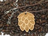 Hop Pendant Cord Necklace